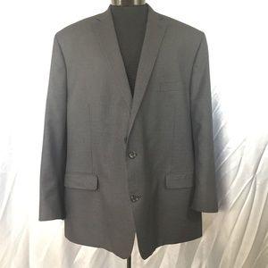 Michael by Michael Kors mens plaid suit jacket